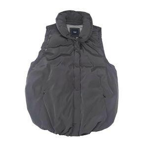 GAP Womens Soft Black Full Zip Puffer Vest Size S